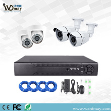4CH Security 1MP Starlight IP Cameras Poe System