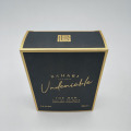 Benutzerdefinierte Men Parfüm Gold Card Box