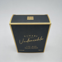 Aangepaste mannen parfum Gold Card Box