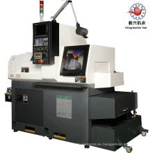 BS203 máquina roscadora de tubos Torno CNC banco de 3 ejes Tipo de cama CNC torno central / centro de torneado para la India