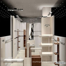 Stainless Steel Shopfitting Design Clothing Store Display Stand/Display Rack