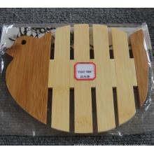 (BC-M1005) Handgemachte natürliche Bambus-Tauben-Form-Wärmedämmung Matte