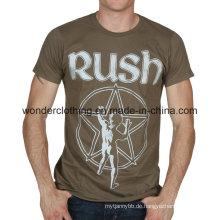 Herren Rundhals Sommer Großhandel Mode Druck T-Shirt