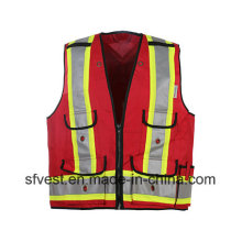 High Visibility Reflective Mesh Safety Vest with Class2 CSA