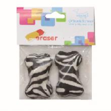 Chien OS Zebra Stripe Eraser