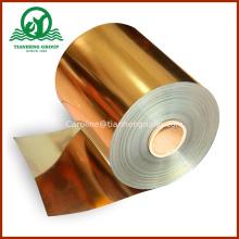 Metalizado Decoración Embalaje Rígido PVC Película para artículos de regalo Alimentos