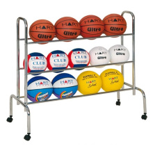 Sports Courts Movable Rack Ball Storage Display Carts
