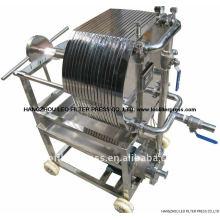 Filtre de feuille d'acier inoxydable, filtres de plat et de cadre d'acier inoxydable de presse de filtre de Leo