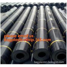 geomembrane plastic film for road construction, membrane film liner sheet, HDPE Geomembrane