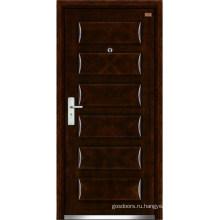 Стальные деревянные двери (LT-316)