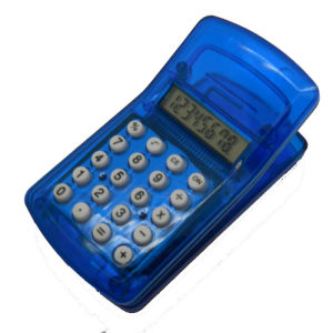 8 Digits Mini Clip Calculator with Magnet