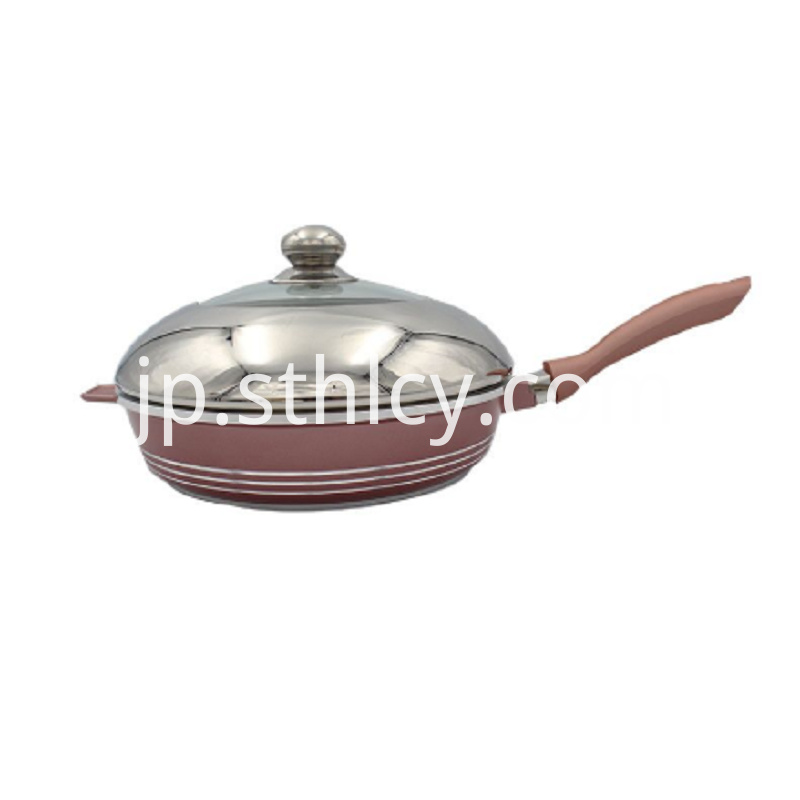 The Latest Stainless Steel Pan