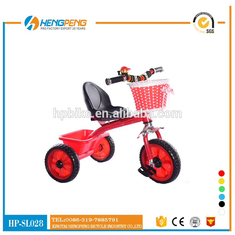 Children Tricycle with Large basket