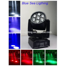 Best Price rgbw DMX led small moving head light