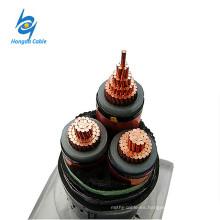 XLPE 11kv 3 Core 50mm 120mm Cable de alimentación de cobre Precio
