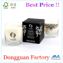 Factory Price Custom Printed Candle Packaging Box Candle Box