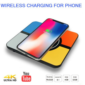 Android 8.1 TV Wireless Charger For iPhone