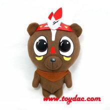 Gefüllte Cartoon Cacique Bären