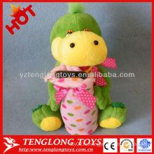 Детские подарки плюшевые игрушки с динозаврами с монетным банком