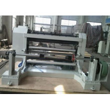 High Speed 1300mm Cutting 4kw Paper Slitting Machine For Aluminum Parts Cut Thin Iso900