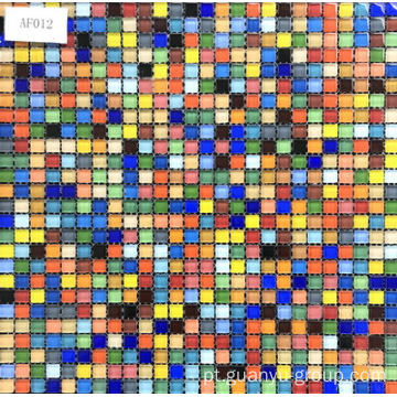 Sweet Candy Color Glass Mosaic