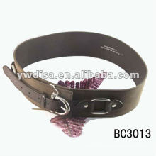 Women's PU Plain Belt