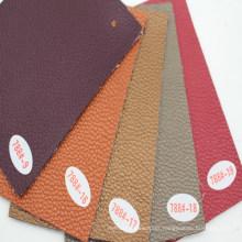 PVC Sofa Leather with Peary-Lustre (Hongjiu-788#(9-19))