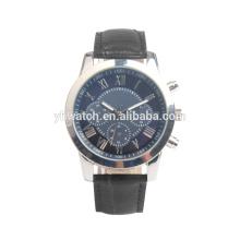 Relógio análogo de quartzo das mulheres dos homens, relógio de pulso barato do afastamento