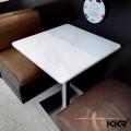 белые акриловые ресторан стулья и столы для ресторана