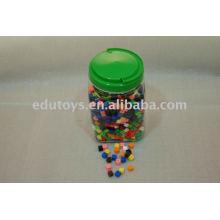 Crianças plásticas Flocos de neve Brinquedos para alimentação escolar