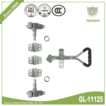 Eksternal Door Lock Gear Dengan Delta Lever Handle