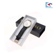 fábrica de sencai que vende personalizar el reloj de la insignia caja de papel de la caja de empaquetado de la muñeca individual