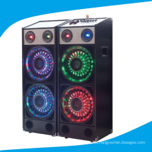 Doble 10 pulgadas Fashional 2.0 Altavoz con luz colorida T239-16
