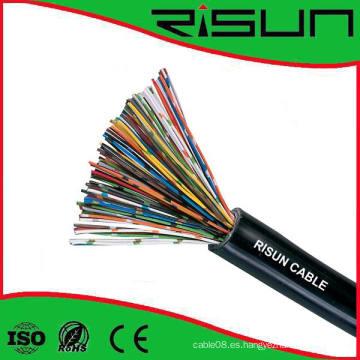 1-50 pares de cable telefónico Cable de voz Cat3 con alto rendimiento