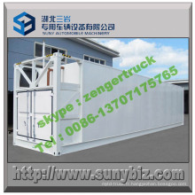 ISO 40hq 64000 litres de stockage de pétrole Refuel Tank Container