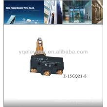 Лифт Micro Switch Z-15GQ21-B, Концевой выключатель лифта, Переключатель лифта
