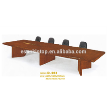 Mesa de conferencia simple del estilo para la oficina, diseño modificado para requisitos particulares de los muebles de oficina (D-951)