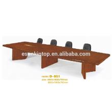 Простой стол для конференций, офисная мебель, индивидуальный дизайн (D-951)
