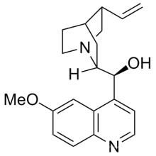 Quiral Quimico CAS No. 56-54-2 Quinidina; (9S) -6 '-Metoxicin nican-9-Ol