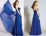 Chiffon Crystal Beaded Evening Dresses , Sweetheart Full Le
