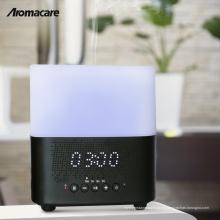 Decoração de natal 2018 Night Light Bluetooth Speaker Difusor de Aroma Excelente Design Difusor De Óleo De Madeira Grão 300 ml Umidificador