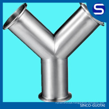 ASME/ANSI B16.9 Stainless Steel y pipe fitting steel