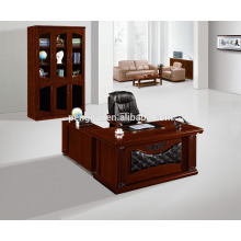large size model new designs office table with side table