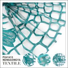 Пользовательские OEM высокое качество мягкой чистой зеленой сетки вышивки