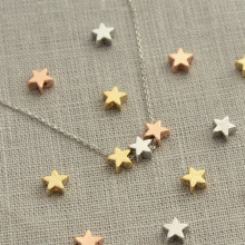 Three Star Necklace Pendant