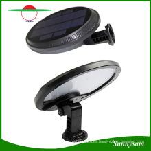 56 LED Solar Garden Sensor de movimiento de luz de pared 500lm High Lumen Super Bright Lamp exterior de luz solar para patio / jardín / Street / Parking