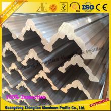 Perfiles de extrusión de aluminio / aluminio para tiendas de campaña Perfil