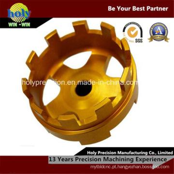 Peças de máquina de latão CNC Custom-Made