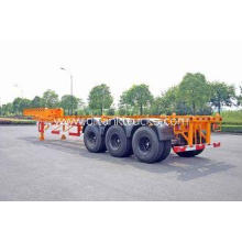 Steel Tank Container Trailer Chassis / 40 ft Gooseneck Trai