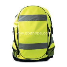 large capacity Safety Backpack HI VIS yellow